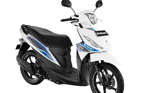 Suzuki Address FI memperkenalkan empat varian warna baru pada Rabu (18/7). [Dok PT. Suzuki Indomobil Sales]