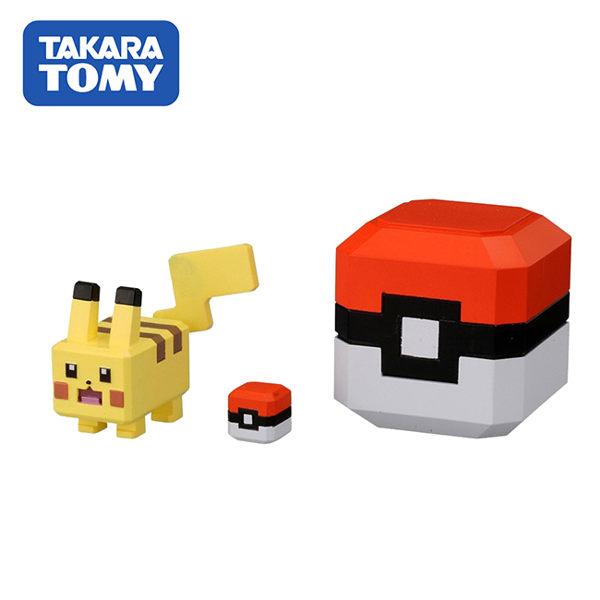 【日本正版】皮卡丘 探險寶貝球 公仔 寶可夢 探險尋寶 寶酷方 神奇寶貝 TAKARA TOMY - 121176