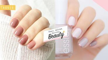 「短指甲女生」最適合的4款美甲~想讓手指看起來更修長,也是有方法哦!
