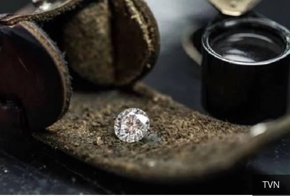 Berlian potong tua