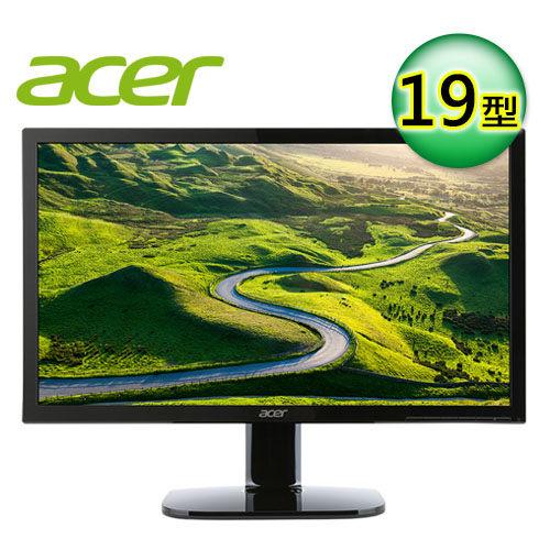 acer 宏碁 KA190HQ 19型 不閃屏濾藍光螢幕 【贈收納購物袋】
