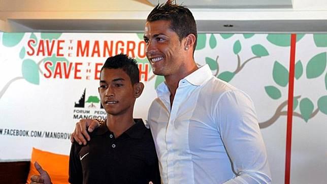 Ronaldo Juga Tak Segan Beri Fasilitas Ini ke Martunis