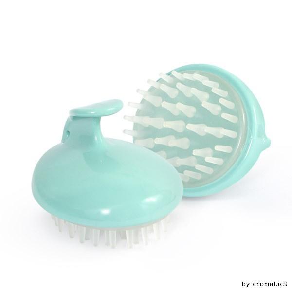 牛奶變焦頭皮按摩自我縮放家庭護理洗髮水毛刷