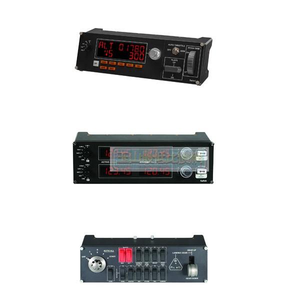 美國 Logitech Flight Combo Switch , Radio Panel , Multi Panel