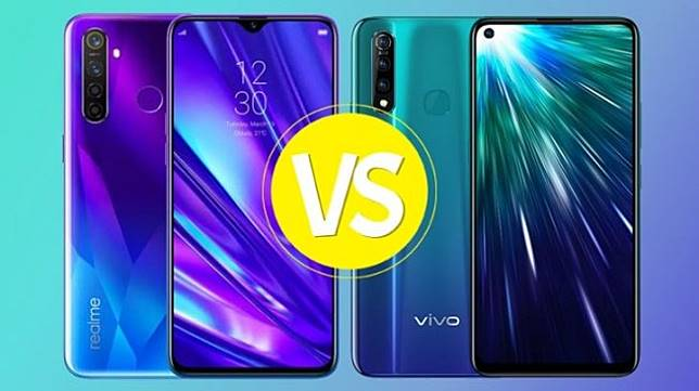 Realme 5 Pro vs Vivo Z1 Pro. (HiTekno.com)