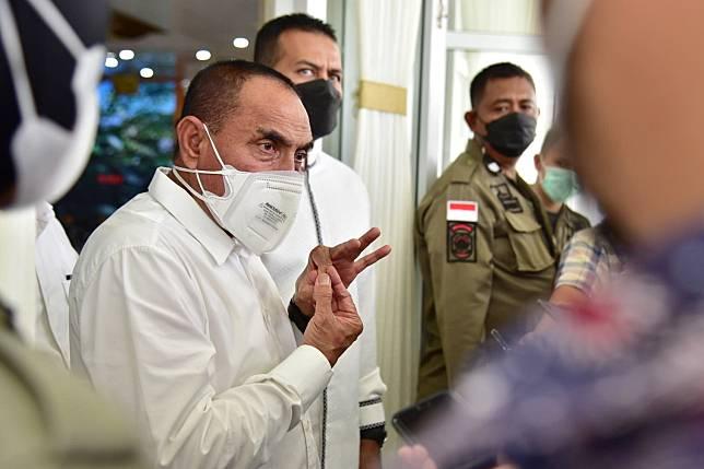 Edy Rahmayadi Angkat Bicara Terkait Pejabat Pemprov yang Selewengkan Anggaran