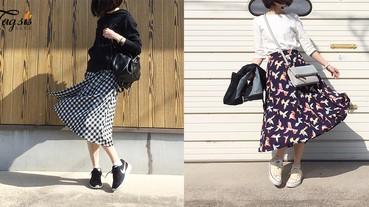 長裙要這樣穿!簡約日系風格~同一條裙子,穿幾十次也不會被發現!