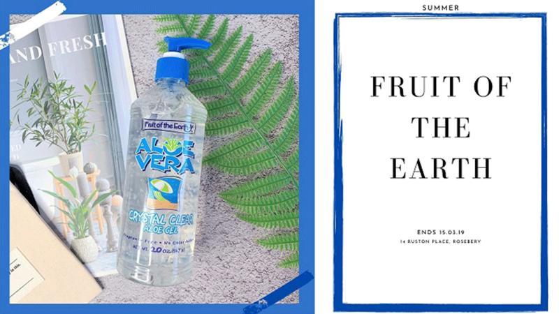 Fruit of the Earth美國第一品牌~有機蘆薈膠