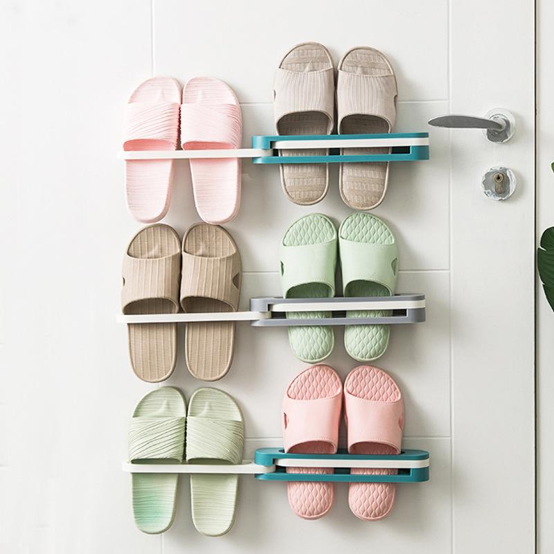 ● 尺寸:約30x6x5公分● 室內鞋子專用●創意毛巾掛架●放置物架
