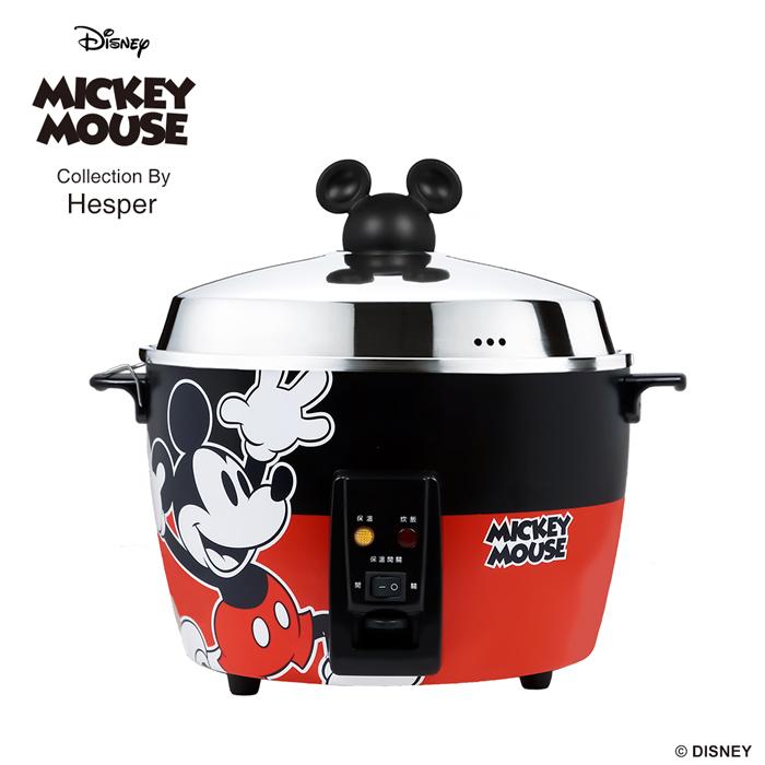 預購-迪士尼米奇系列 11人份 304不鏽鋼電鍋-經典紅