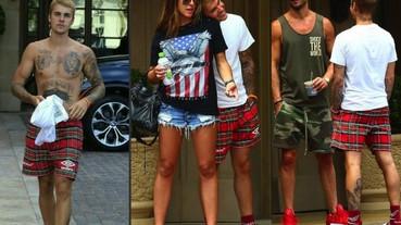 小賈再創新風格 「飯店拖鞋」加運動襪大擺走上街