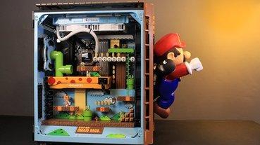泰國設計師打造超級瑪利歐兄弟遊戲主題的電腦主機,可愛到讓人好想收藏