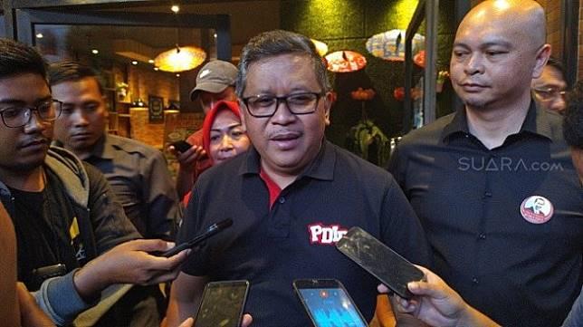 Sektretaris Jenderal PDIP Hasto Kristiyanto. (Suara.com/Stephanus Aranditio).