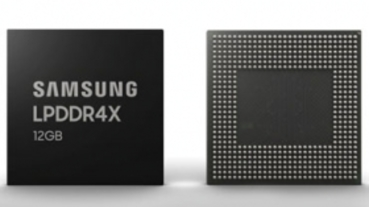 10nm 製程打造、功耗降 10%,三星開始量產 12GB LPDDR4X 手機記憶體