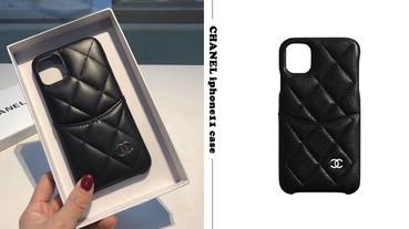 CHANEL推出 iphone11手機殼!高奢小羊皮、自帶卡夾層,一機在手好時尚!