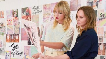 泰勒絲Taylor Swift跟Stella McCartney竟然是好閨蜜!兩人還宣布將推出聯名系列服飾!