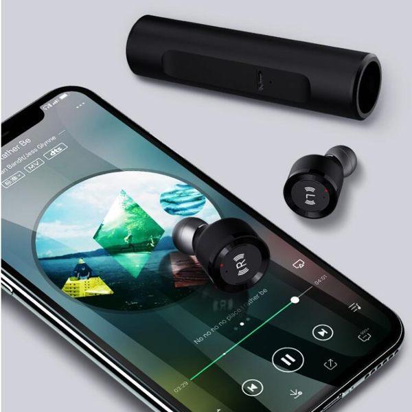 S5藍牙耳機 藍芽5.0技術 支援雙耳通話 智能觸控 自動配對 磁吸雙耳設計YYJ MOON衣櫥