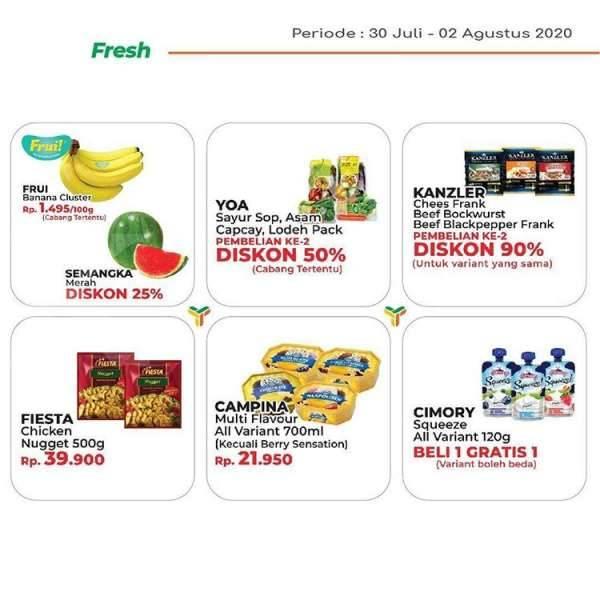 Promo Jsm Yogya Supermarket 30 Juli 2 Agustus 2020 Harga Heran Kontan Co Id Line Today