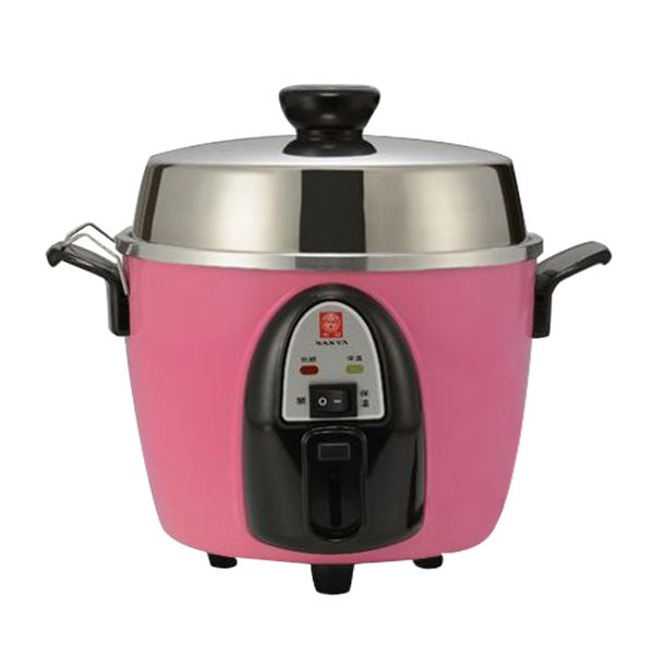 飯、粥、蒸、燉多用途 操作簡便,自動保溫 鍋蓋、內鍋皆304不鏽鋼 通過德國VDE國家產品認證