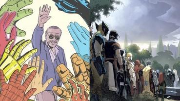 史丹李過世各界追思,漫畫家們用作品來緬懷這位「漫威之父」!