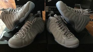 新聞速報 / Nike Air Foamposite One 'Grey Suede'