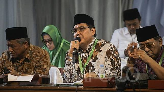 Nahdlatul Ulama Central Board (PBNU) secretary-general Helmy Faishal Zaini. TEMPO/M Taufan Rengganis