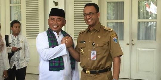 Wali Kota Bekasi bertemu Anies Baswedan. ©Liputan6.com/Ika Defianti
