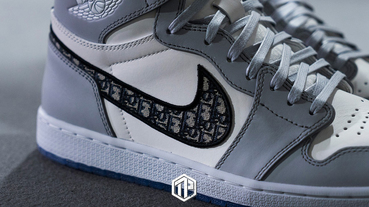 Dior x Air Jordan 1 Low 最新聯名鞋款曝光!