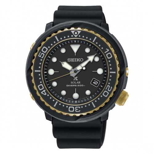 原廠公司貨二年保固防水200米潛水錶廣告款V157機芯石英機芯-太陽能單向旋轉錶圈可鎖式錶冠