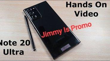 三星 Galaxy Note 20 Ultra 動手玩影片曝光,與 Note 10 採用相同尺寸 S Pen