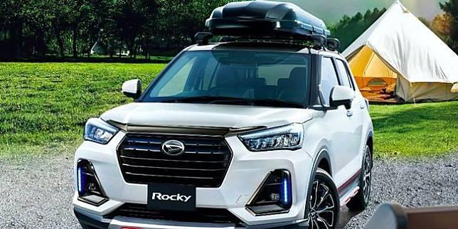 Daihatsu Rocky Powerful Style (Carscoops)