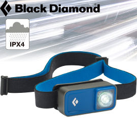 【Black Diamond 美國 Ion 觸碰式頭燈 藍】620615/頭燈/登山/露營/防水頭燈★滿額送