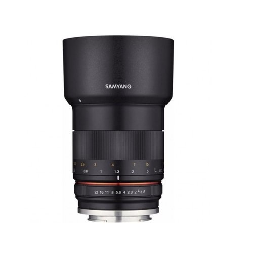 SAMYANG MF 85mm F1.4 手動對焦鏡 FOR CANON RF (公司貨)贈大清潔組+運動收納袋+PIXI腳架