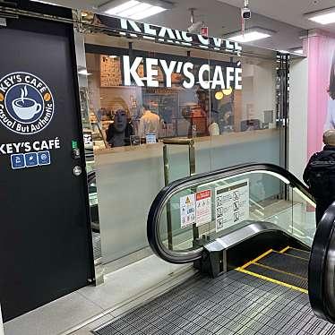 実際訪問したユーザーが直接撮影して投稿した新宿カフェキーズカフェ ビックロ ビックカメラ新宿東口店の写真