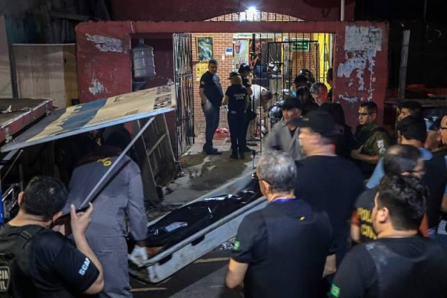 7คนร้ายบุกกราดยิงฆ่าหมู่11ศพ ในบาร์เมืองเบเลมบราซิล