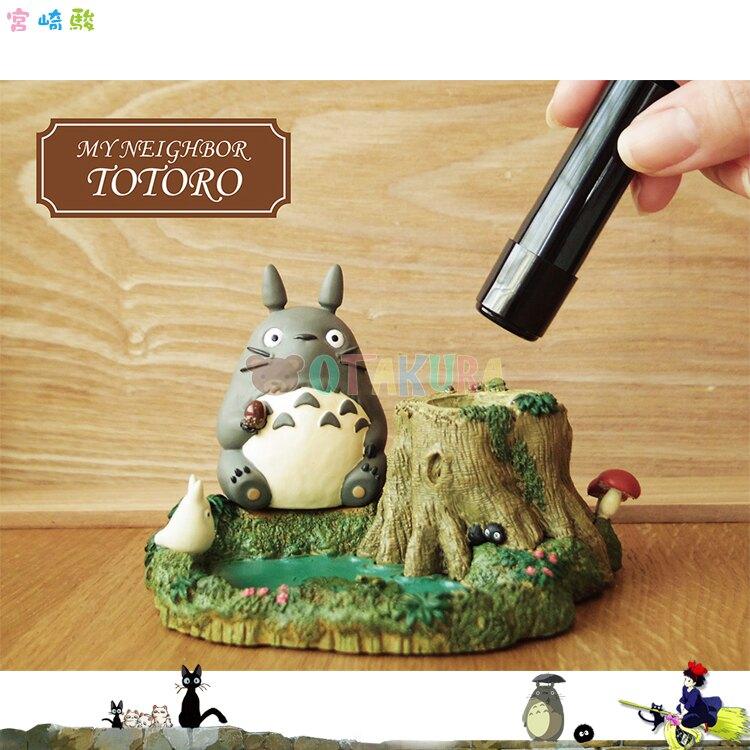 日本郵便局 宮崎駿 龍貓 豆豆龍 TOTORO 印鑑台 印章台 收納置物盒 郵局限定 日本進口正版 392185
