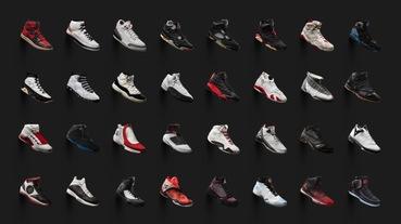 與你說飛人的故事 / Jordan Brand 推出 Air Jordan Collection 網站匯聚歷代戰靴史