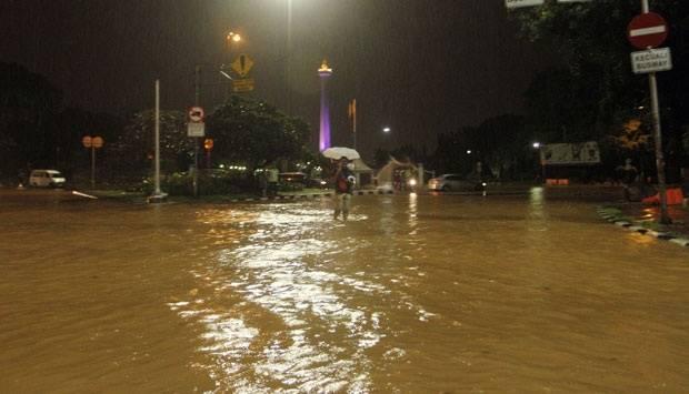 Viral Video Monas Banjir, Dinas SDA DKI Jakarta: Hoax