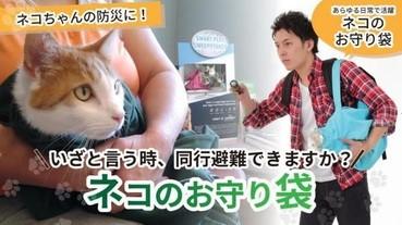 守護貓貓袋子,與主子一同安全避難~