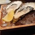 生牡蠣 - 実際訪問したユーザーが直接撮影して投稿した西新宿バーオイスターバー 桔梗の写真のメニュー情報