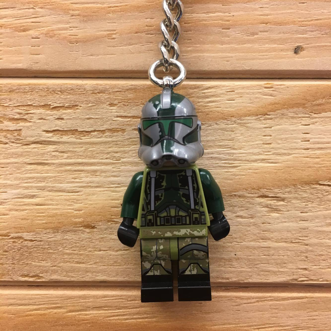 BEETLE LEGO STAR WARS COMMDER GREE 星際大戰 指揮官 葛里 樂高 積木 鑰匙圈 玩具