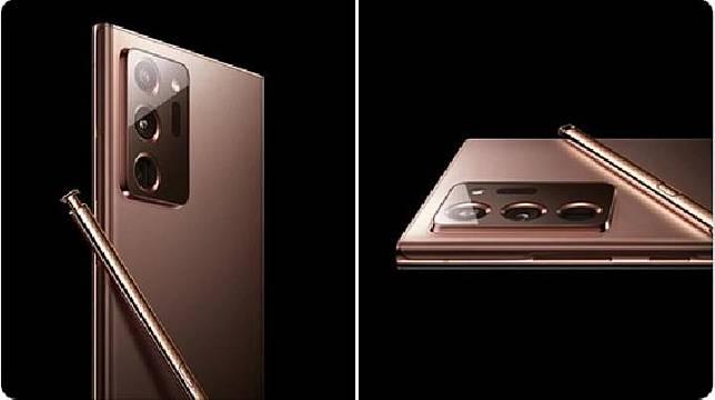 Samsung Note 20 Ultra. Kredit: Max Weinbach/Twitter