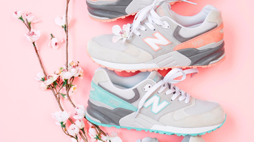 官方新聞 / New Balance 999 復古鞋 Cherry Blossom 櫻花系列粉嫩登場