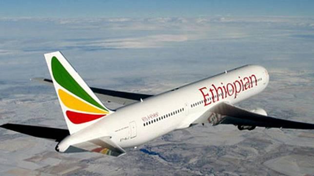 Pesawat Ethiopia Airlines Dibajak