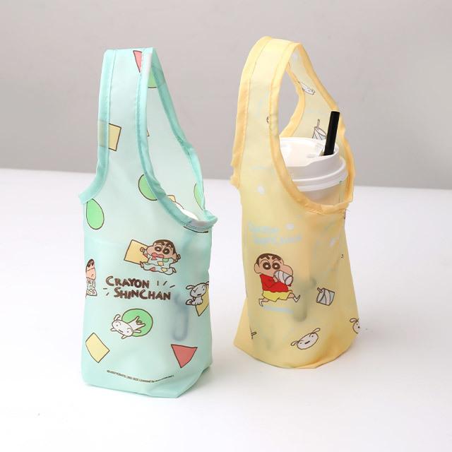 【正版授權】蠟筆小新飲料袋