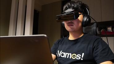 PHOTONTREE X 頭戴式顯示器 開箱動手玩:首創雙光學設計,將 800吋電影院直接戴頭上!