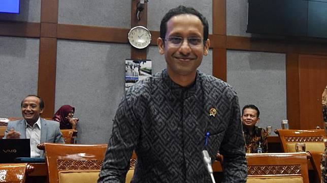 Mengutip Wakil Direktur Center for Strategic and International Studies Brian Harding, Nadiem Makarim membawa semangat anak muda dan kemampuannya di bidang kewirausahaan ke dalam kabinet Jokowi. ANTARA FOTO/Indrianto Eko Suwarso