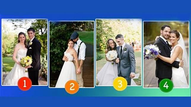 Tes Kepribadian: Dari 4 Pasangan Ini Manakah Menurut Anda yang Cepat Cerai? (Dok Buzzquiz)