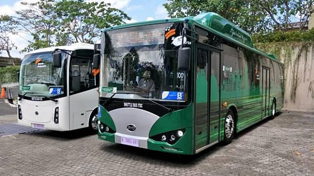 Bus listrik Bakrie Autoparts dan BYD