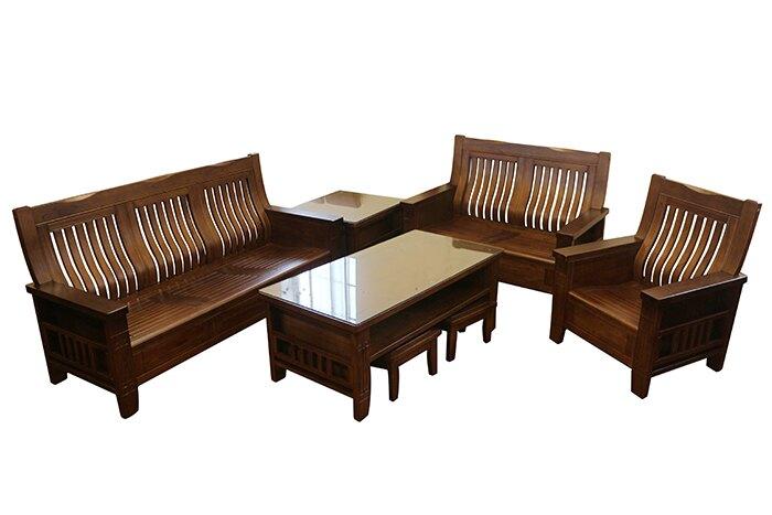 【尚品傢俱】 688-17 柔佛實木1+2+3木組椅 (含大小茶几)